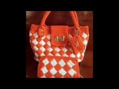 BOLSOS TEJIDOS A CROCHET - YouTube