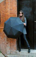 Metallic,Embellished,Strap,Black,Fold-Up, Fold-Up, Metallic, Embellished, Umbrella, Strap The Great Outdoors, Goth, Metallic, Black, Style, Fashion, Gothic, Swag, Moda