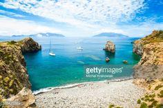 Cala Junco - small bay of Panarea - one of Aeolian Islands near... #panarea: Cala Junco - small bay of Panarea - one of Aeolian… #panarea