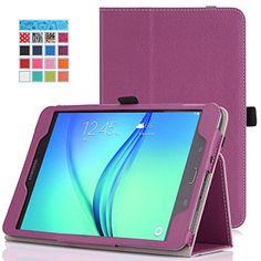 MoKo Samsung Galaxy Tab A 8.0 Case - Slim Folding Cover Case for Galaxy Tab A 8.0 inch Tablet SM-T350, PURPLE (With Auto Wake / Sleep and Stylus Pen Loop) MoKo http://www.amazon.ca/dp/B00LEABL2G/ref=cm_sw_r_pi_dp_RIRGwb1E1CJCV