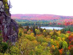 On my bucket list is to hike the Superior Hiking Trail from Duluth to Grand Marais. Even better to do it in the fall.