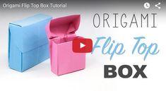 come fare scatolina tipo pacchetto di sigarette tutorial