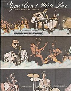 You Can't Hide Love – Earth, Wind & Fire – 1976 (Sheet Music of the 1970s) at Ladybugs Antiques & Collectibles