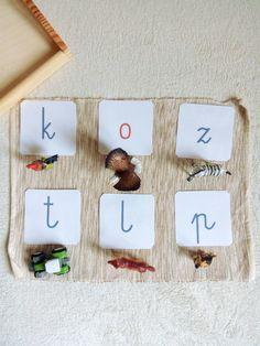 Moje Montessori Literki i figurki zwierząt
