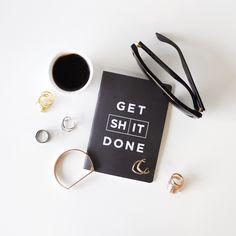 Get shit done #fashioncoffee #coffeedential