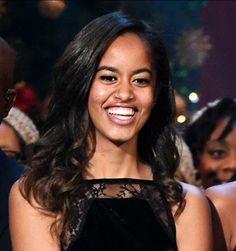 Beautiful First Daughter Milia Obama