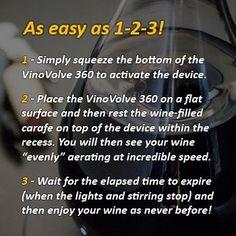 VinoVolve 360 Wine Aerator