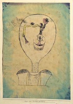 Paul Klee The Beginnings Of A Smile