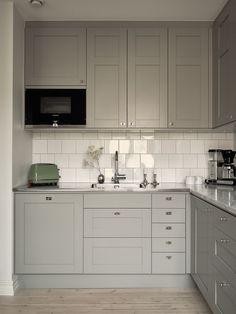 Home Interior, Interior Design Kitchen, Stylish Kitchen, Loft, Apartment Design, Cozy House, Home Kitchens, Kitchen Dining, New Homes
