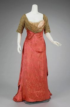 Callot Soeurs evening dress, 1911. I love those colors!