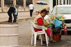 Mazatlan street seller.