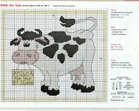 Cross Stitch / Cross stitch: Cows