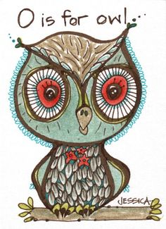 'O is for Owl' by Jessica Doyle