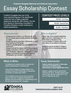 Frederick douglass essay contest