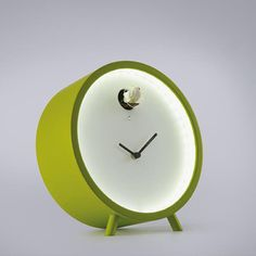 Table Clock Green now featured on Fab.