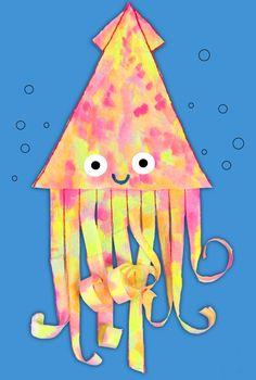 Paper Towel Squid