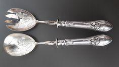 31   800er Silber Flatware, Tableware, Silver Cutlery, Art Nouveau, Cutlery Set, Dinnerware, Tablewares, Dishes, Cutlery