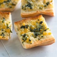 Cheesy Garlic Bread Recipe With Basil