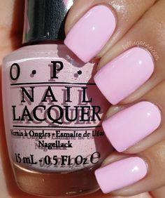 #pink #nails #nailpolish #opi