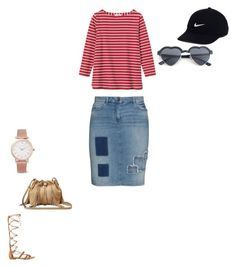 """""""02/28/17"""" by daydreamingpisces on Polyvore featuring Toast, Frapp, GUESS, NIKE, Diane Von Furstenberg and Larsson & Jennings"""