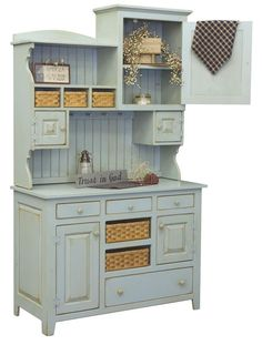 Amish Made Lizzie Pine Hutch