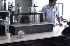 See It Here, Drink it There: Alpha Dominche Steampunk at Demitasse [ Video ] | LA Coffee Club