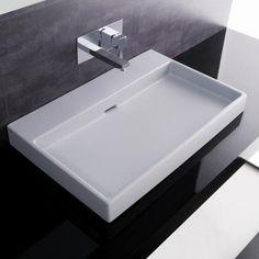 Beautiful Bathroom Sink Countertop Part 5 - Modern Bathroom Wall Mounted Sink Ada