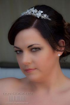 Wedding makeup using Arbonne products