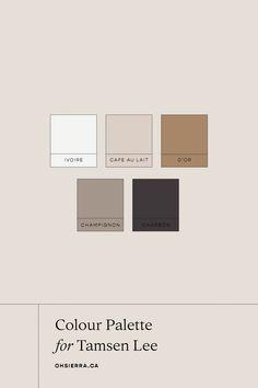Types Of Color Schemes, Modern Color Schemes, Flat Color Palette, Colour Pallette, Colour Swatches, Web Design, Color Plan, Brand Identity Design, Logo Color