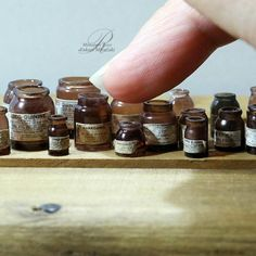 2017.11 Miniature Bottles By Rosy