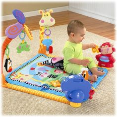 Fisher-Price Discover 'n Grow Open Play Musical Gym