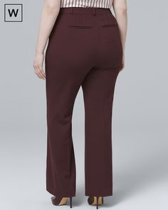 af9d4f8f00b Calvin Klein Plus Size Wide-Leg Dress Pants - Pants   Capris - Women ...