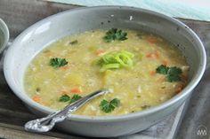 V kuchyni vždy otevřeno ...: Zasmažená pórková polévka