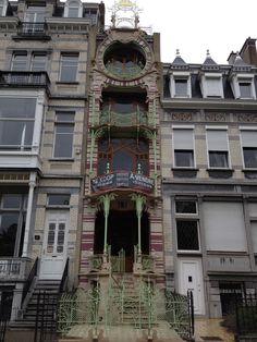 My favorite house in Brussels, Belgium.