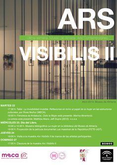 Ars Visibilis II (Actividades del 22 al 27 de abril en #MuseodeAlmeria)