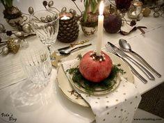 میزآرایی شام شب یلدا – وبلاگ ويدا