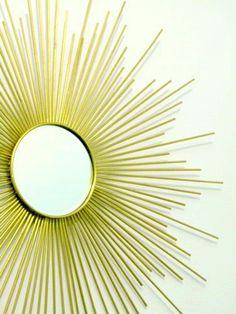 Espelho sunburst