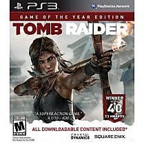 On sale now Tomb Raider: Game of the Year Edition - PlayStation 3 - TrackIf