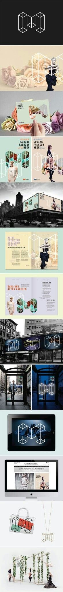 Melbourne Spring Fashion Week Branding | Fivestar Branding – Design and Branding Agency & Inspiration Gallery