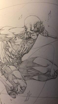 Comic Books Art, Comic Art, Book Art, Brett Booth, Body Template, Wolverine Art, Superman Art, Grey Art, Nick Fury