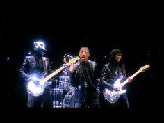 """Daft Punk Pharrell """"Get Lucky"""" SNL Ad"""