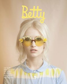 Betty Magazine, Summer 2013 cover | This issue is dedicated to all things floral, including the cover story entitled Daisy, Daisy