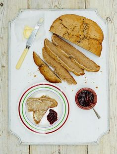 Loads of gluten-free recipes and, just as importantly, gluten-free bread for dunking too.