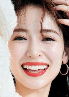 Cute Japanese Women, Beautiful Japanese Girl, Japanese Beauty, Beautiful Asian Girls, Asian Beauty, Girl Face, Woman Face, Dental Cosmetics, Skin Care Routine Steps
