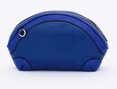 Valentine Import Bag, model oval cute. Korean style. Tali panjang selempang. Warna biru. Uk 26x9x15 (SKU: AEHMBK) - Rp. 159.500 - Gaun Tas: Tas Wanita Impor