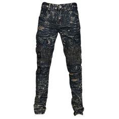 DNM Patchwork Wax Jeans - Men's Harriet Tubman, Parachute Pants, Athletic Shoes, Athlete, Wax, Sweatpants, Clothes, Fashion, Scrappy Quilts