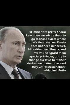 I wish we had President like Putin!
