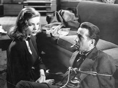 Lauren Bacall, Humphrey Bogart - The Big Sleep (1946)