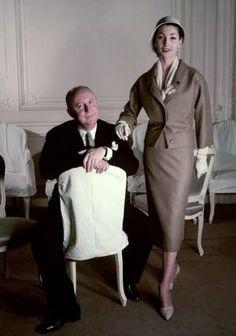 Christian Dior 1957, photo Conde Nast Archive