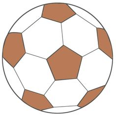 voetbal bruin